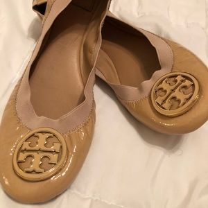 Gently Used Tory Burch Ballet Flats